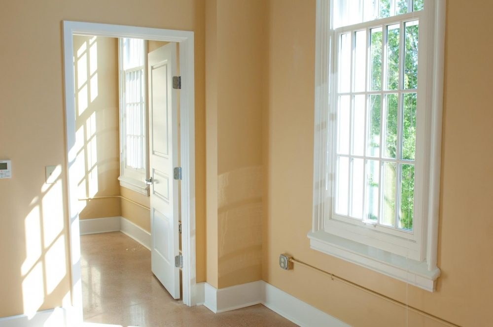 630 Lofts Low Income Housing Apartments Traverse City Michigan Natural Light Doorway Bedroom