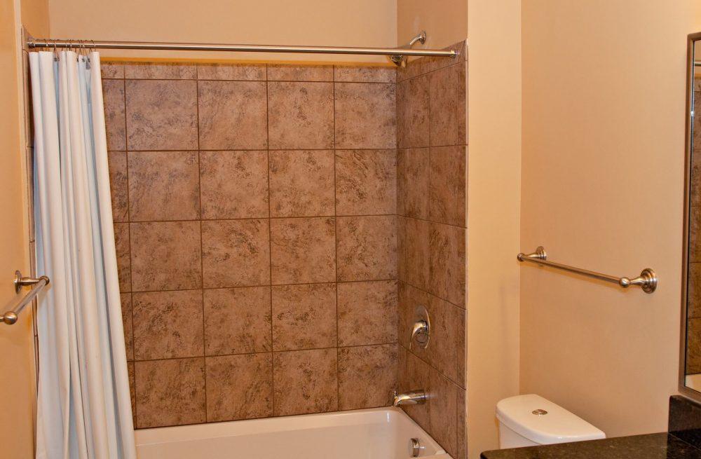 630 Lofts Traverse City MI Low Income Housing Apartments Bath Shower Combo
