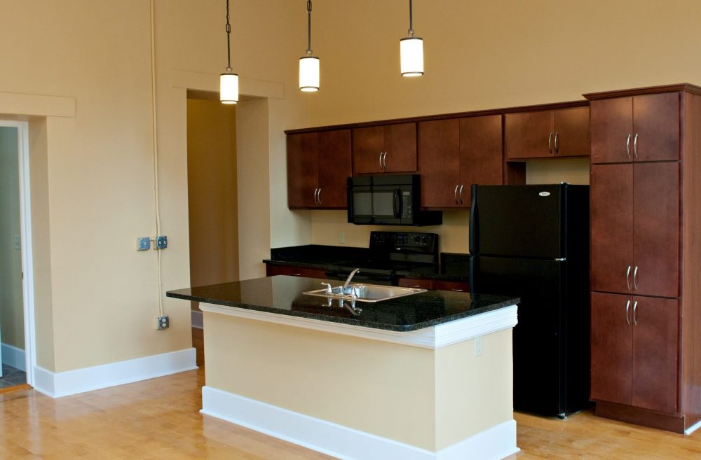 630 Lofts Traverse City Michigan Low Income Housing Apartments Kitchen Island