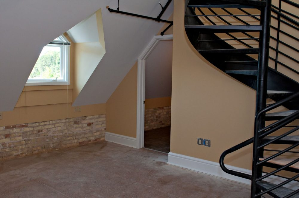 630 Lofts Traverse City Michigan Low Income Housing Apartments Tax Credit Spiral Staircase Loft Unique Design