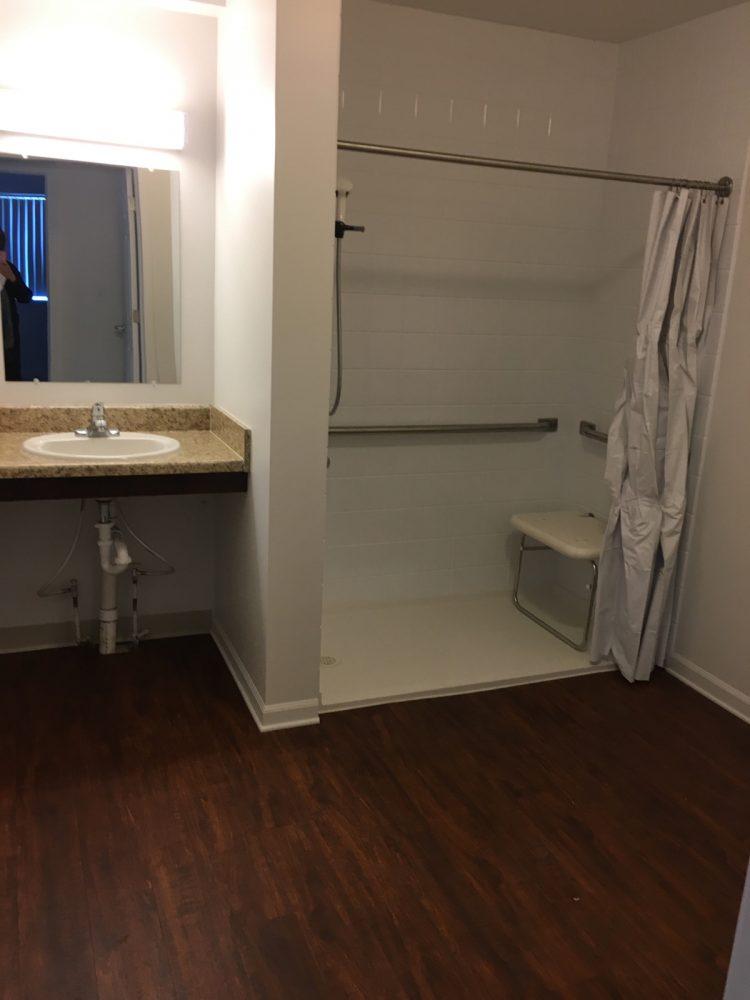 Adams Senior ADA Bathroom with Sink