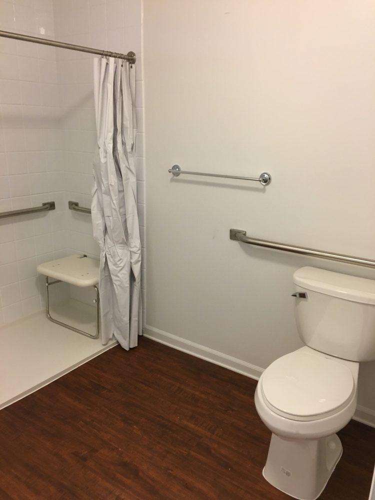 Adams Senior ADA bathroom