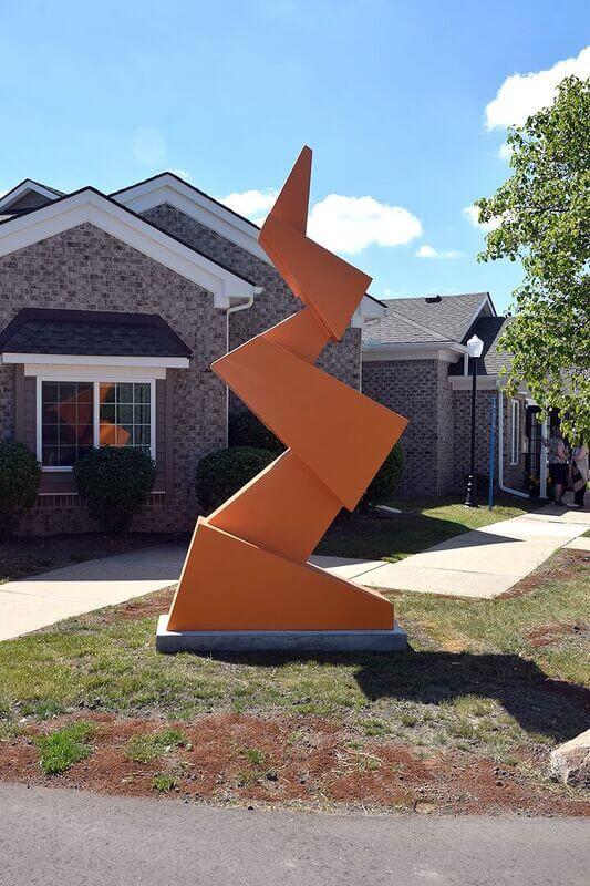 Adams Senior Sculpture