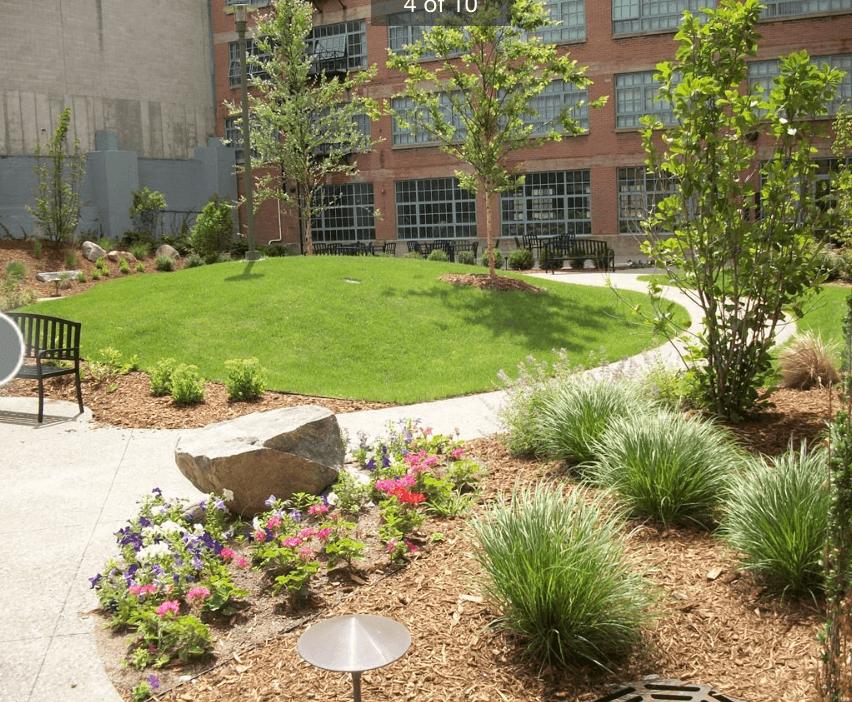 Baker Lofts Grand Rapids Garden 2