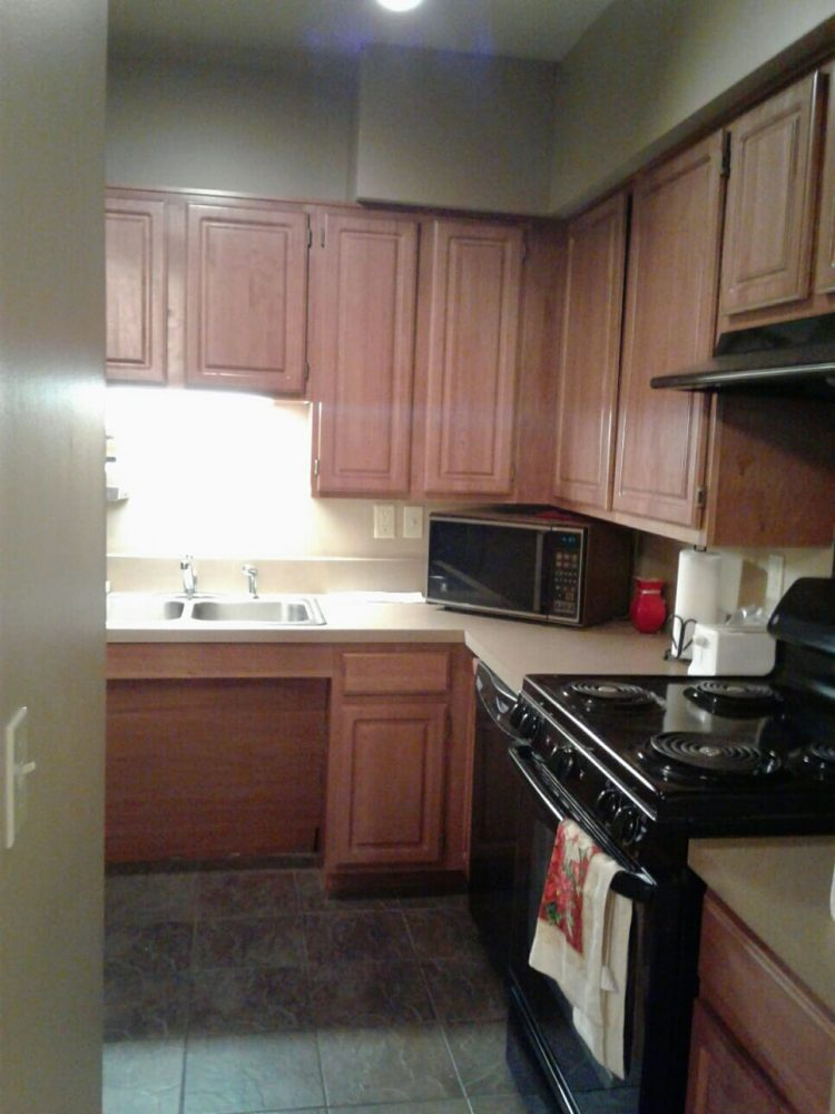 Calumet Townhomes Detroit Michigan Low Income Housing Apartments Clubhouse Kitchen