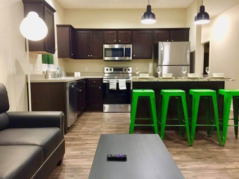 Campus Creek Cottages Big Rapids MI Apartments Open Floor Plans