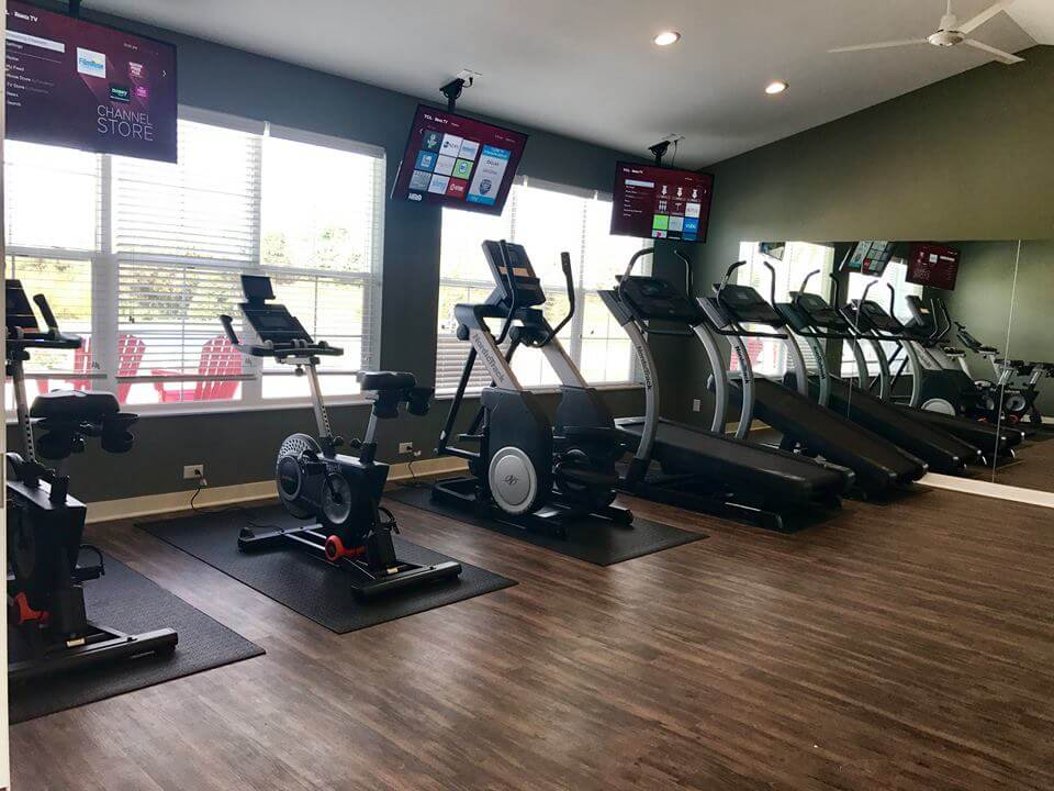 Campus Creek Cottages and Townhomes Big Rapids MI Apartments Fitness Center