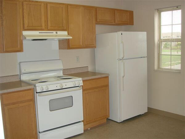 Core City Estates II Detroit Mi Apartments Kitchen
